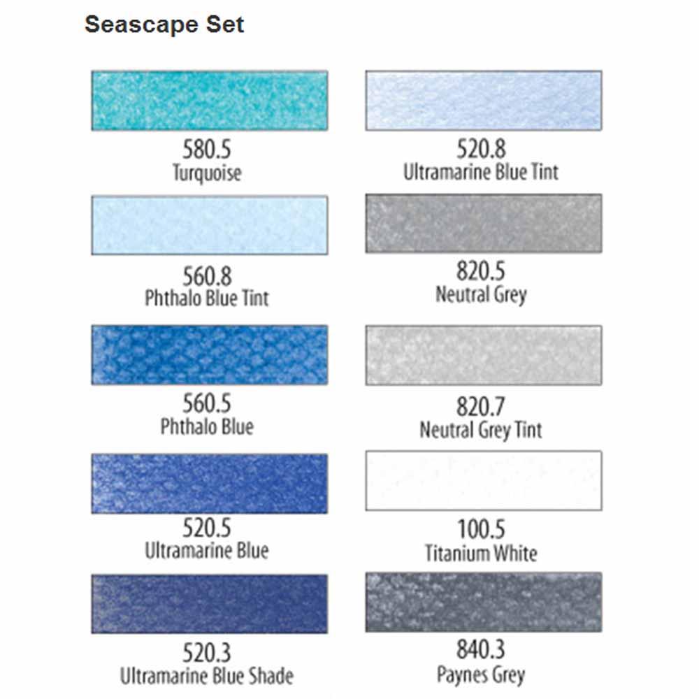 PanPastel Seascape Set of 10